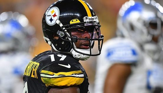 JuJu Smith-Schuster didn't do the full milk-crate challenge, after all