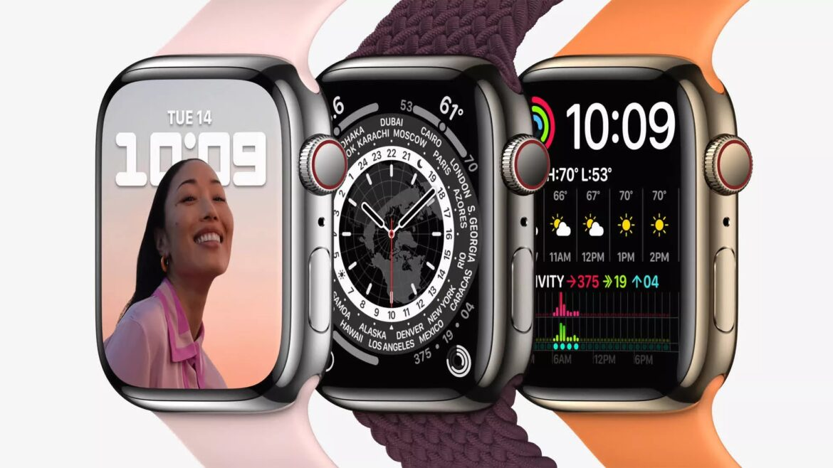 The Apple Watch Series 7 is larger, curvier, and smarter
